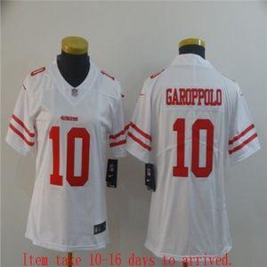 Women 49ers #10 Jimmy Garoppolo Jersey